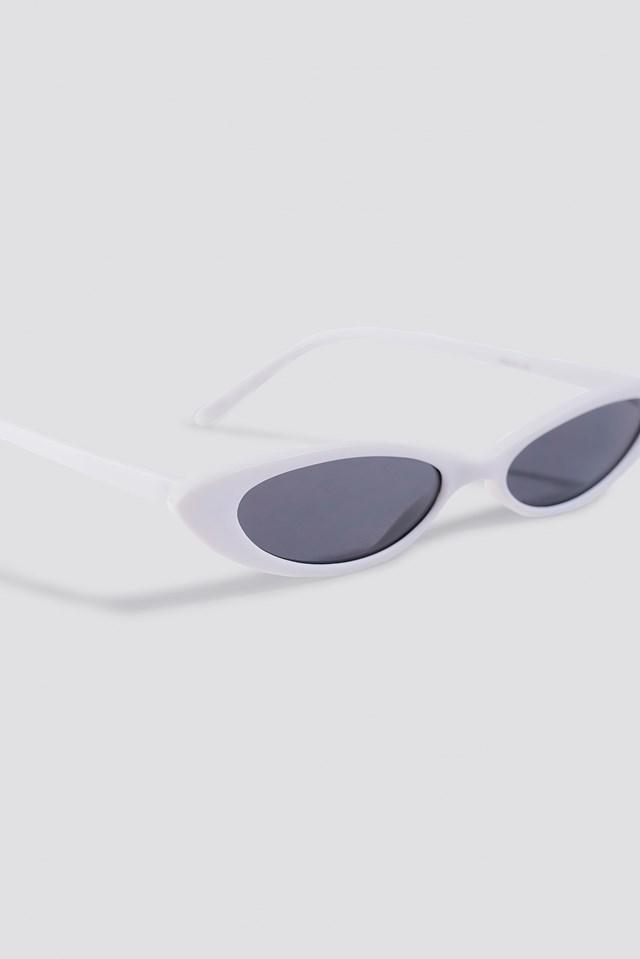 Alanis Sunglasses White