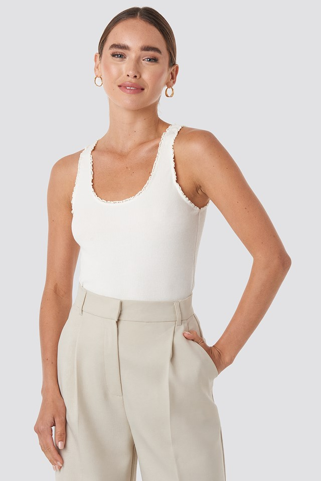 Ale Top Offwhite