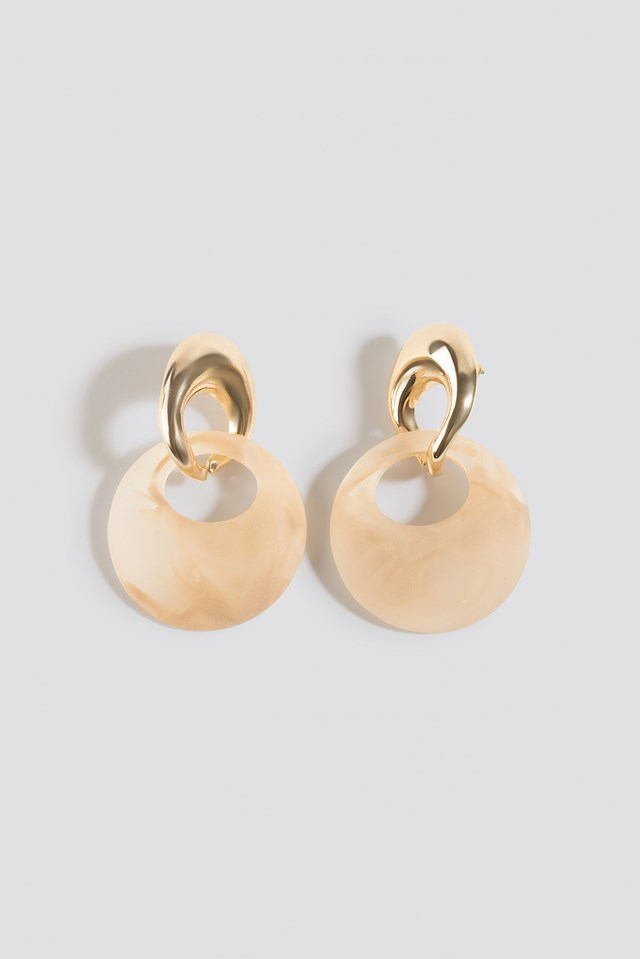 Aleia Earrings Gold