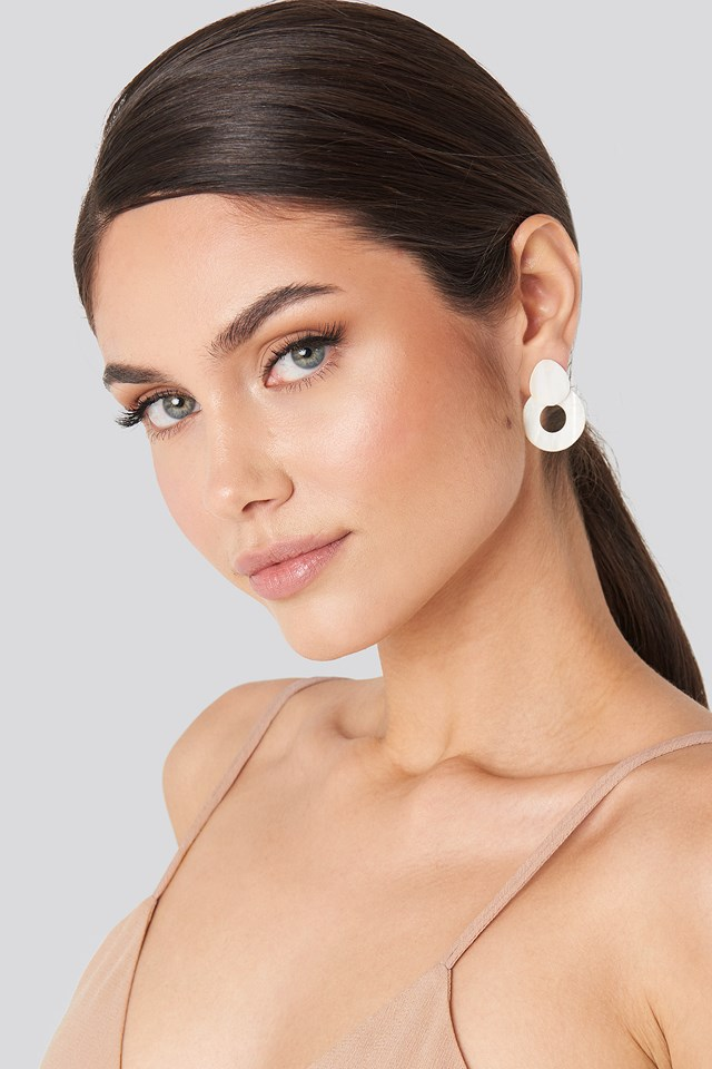 Ani Earrings Pearl