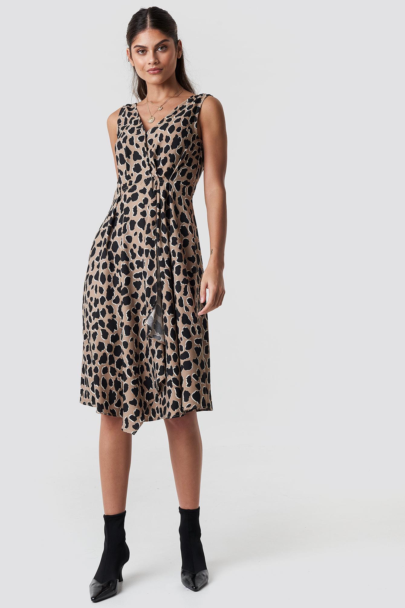 Animal Midi Dress NA-KD.COM