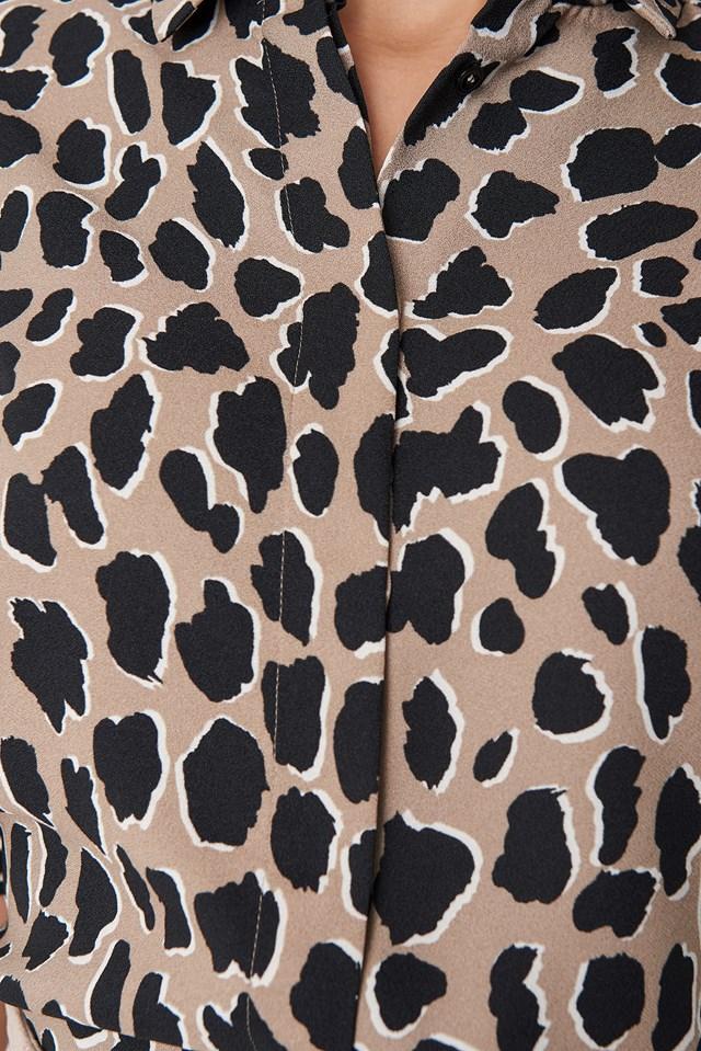 Animal Shirt Brown