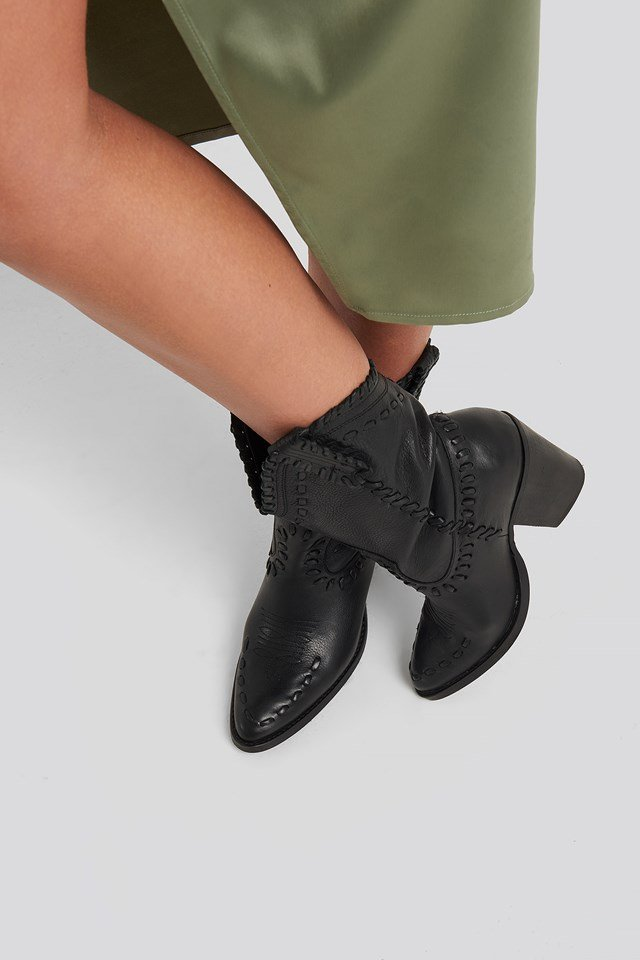 Taylor Ankle Boots Black