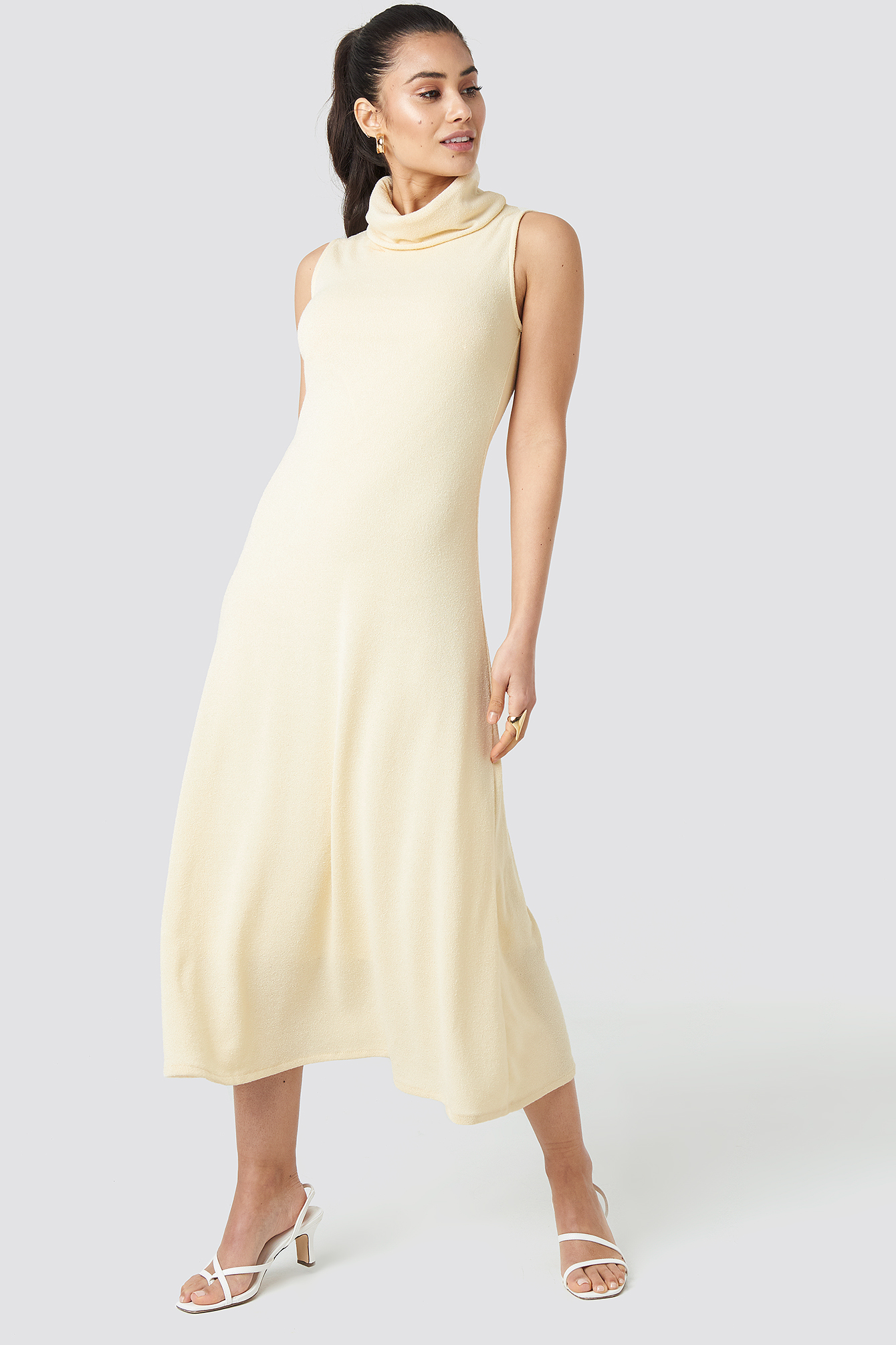 mango -  Antony Dress - White