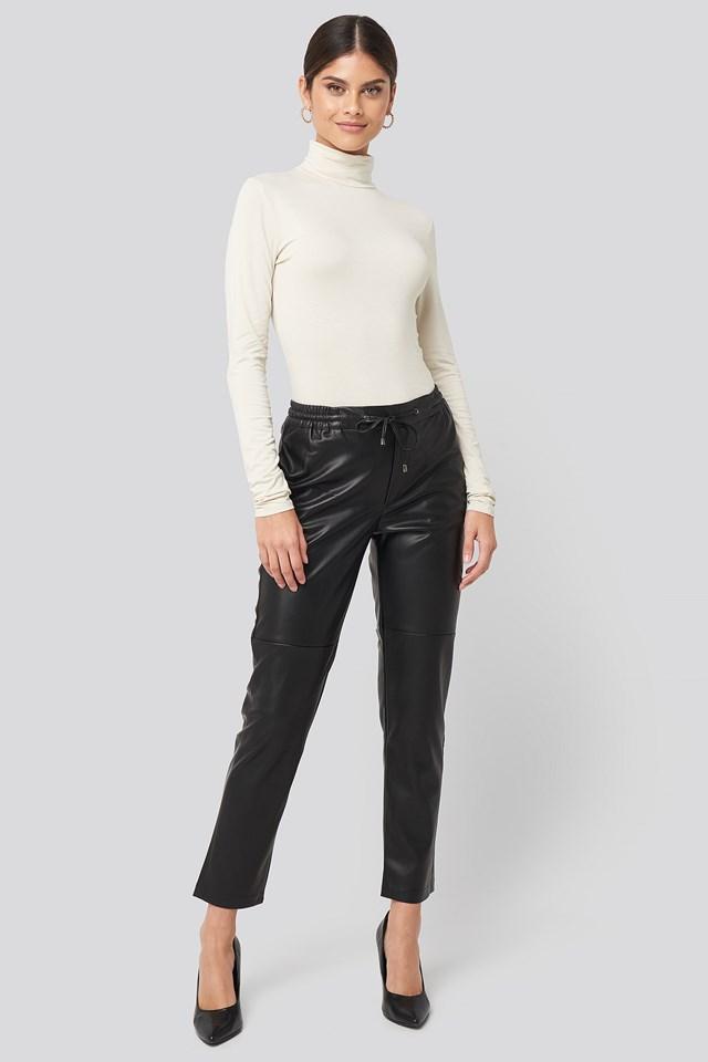 Apple Trousers Black