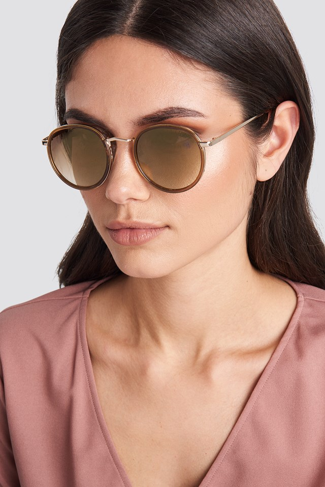 Ariana Sunglasses Gold