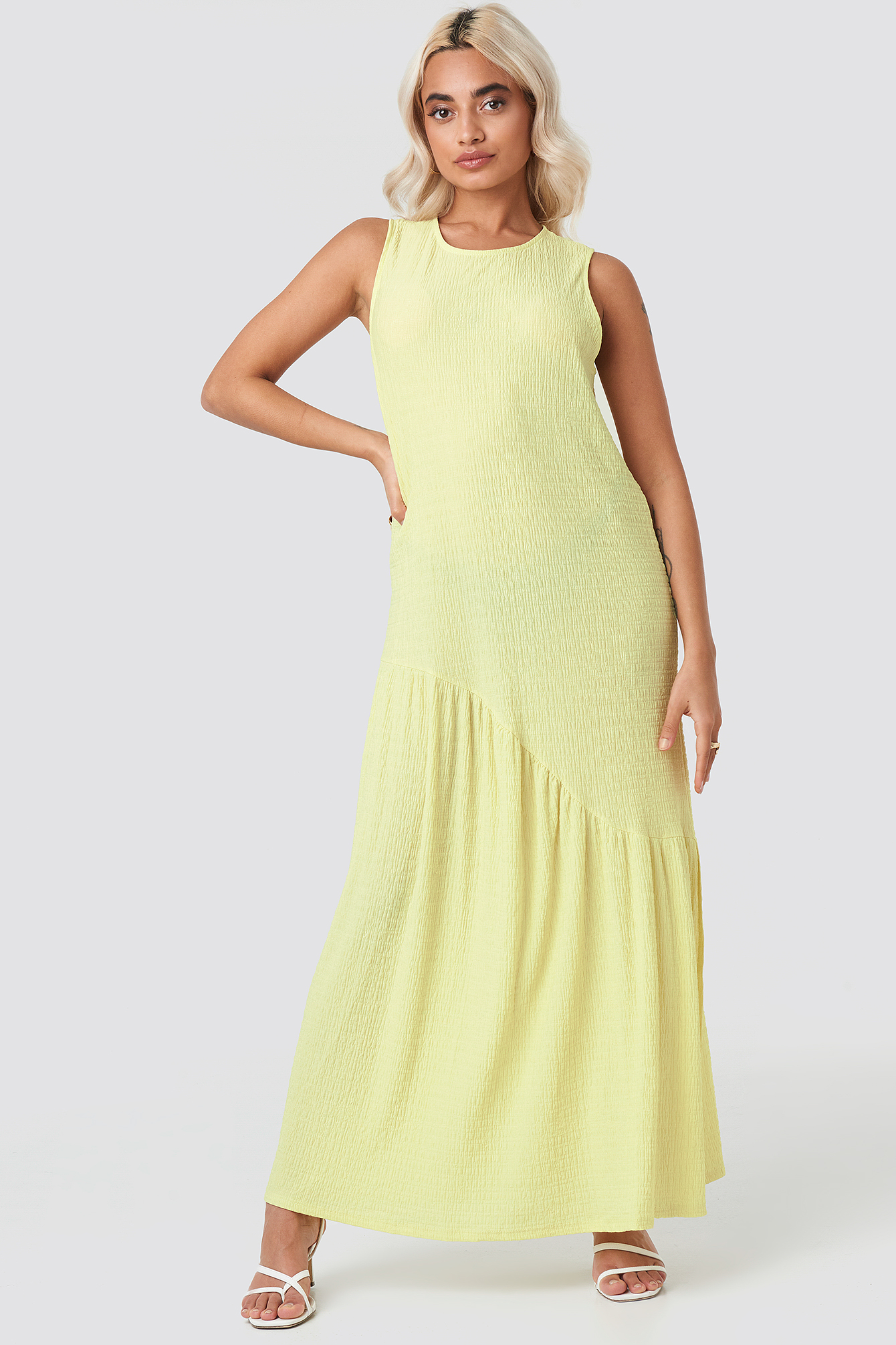 Lime Assi Dress