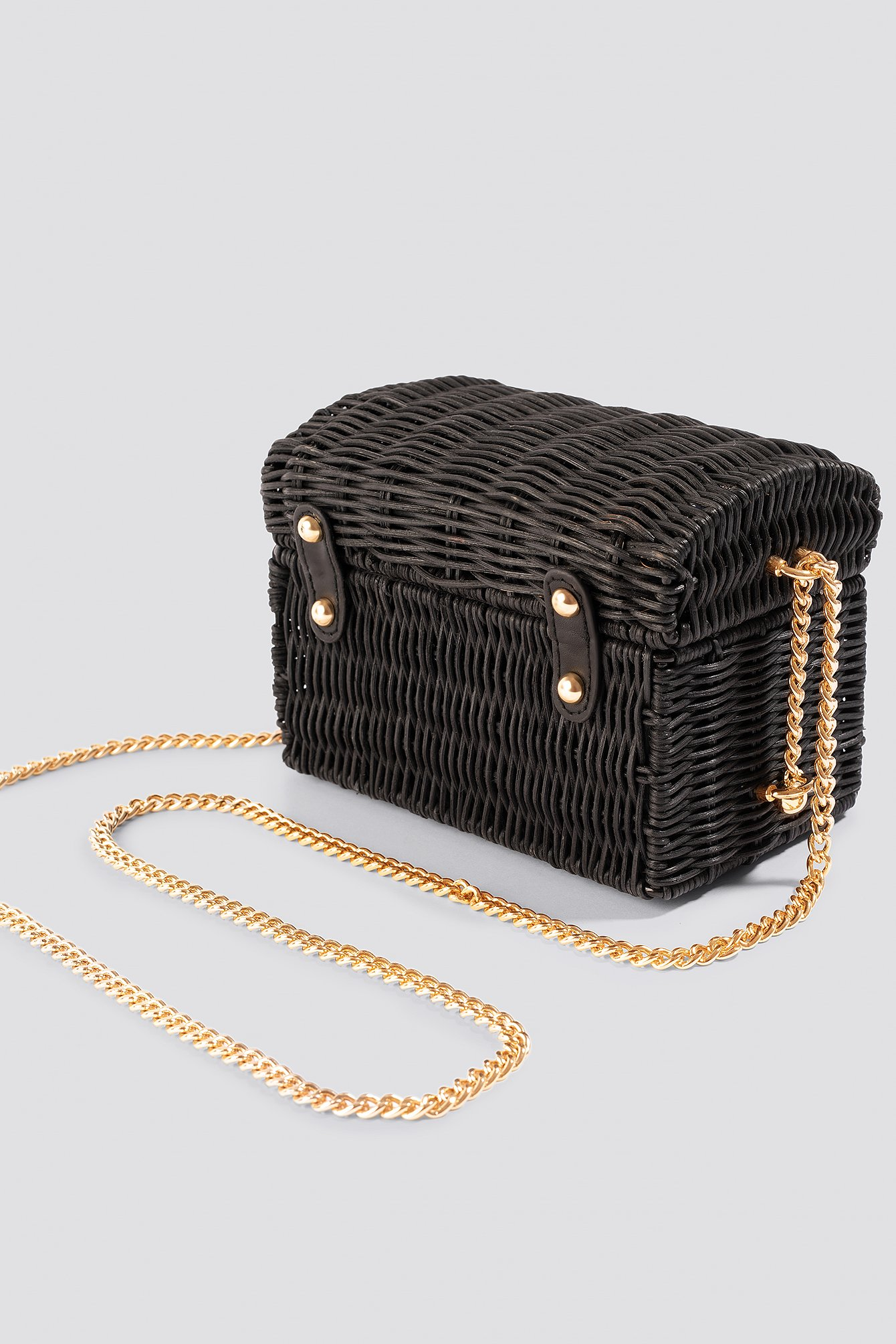 Bamboo Coffer Bag Black Na Kd Com