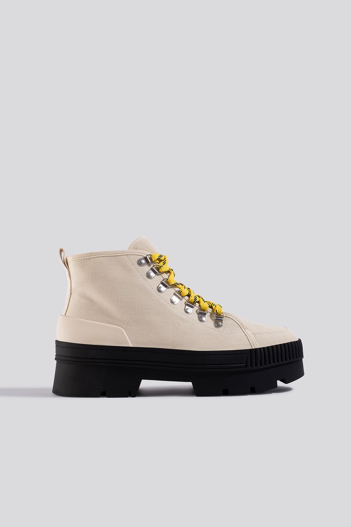 mango -  Bebop Ankle Boots - Beige
