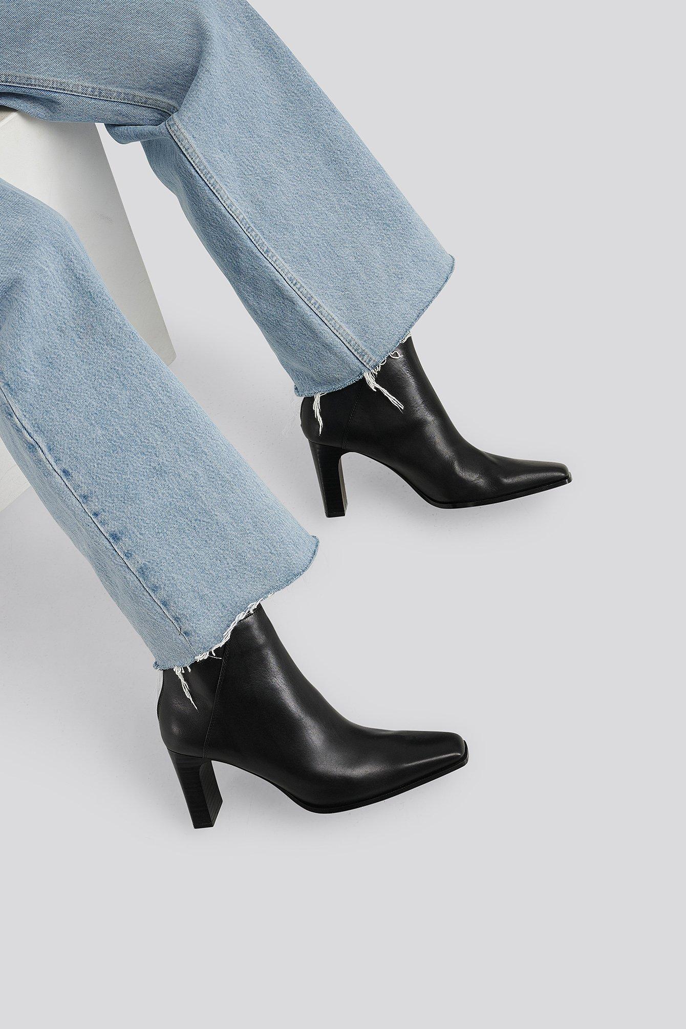 MANGO Bell Ankle Boots - Black | Schuhe > Stiefeletten > Ankleboots | Mango