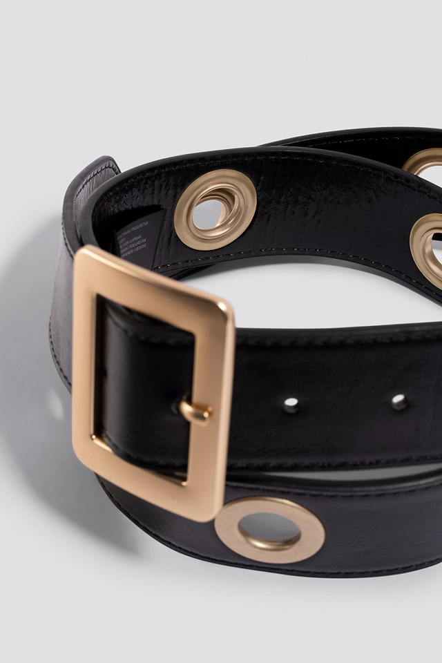 Belt Eyelet Black