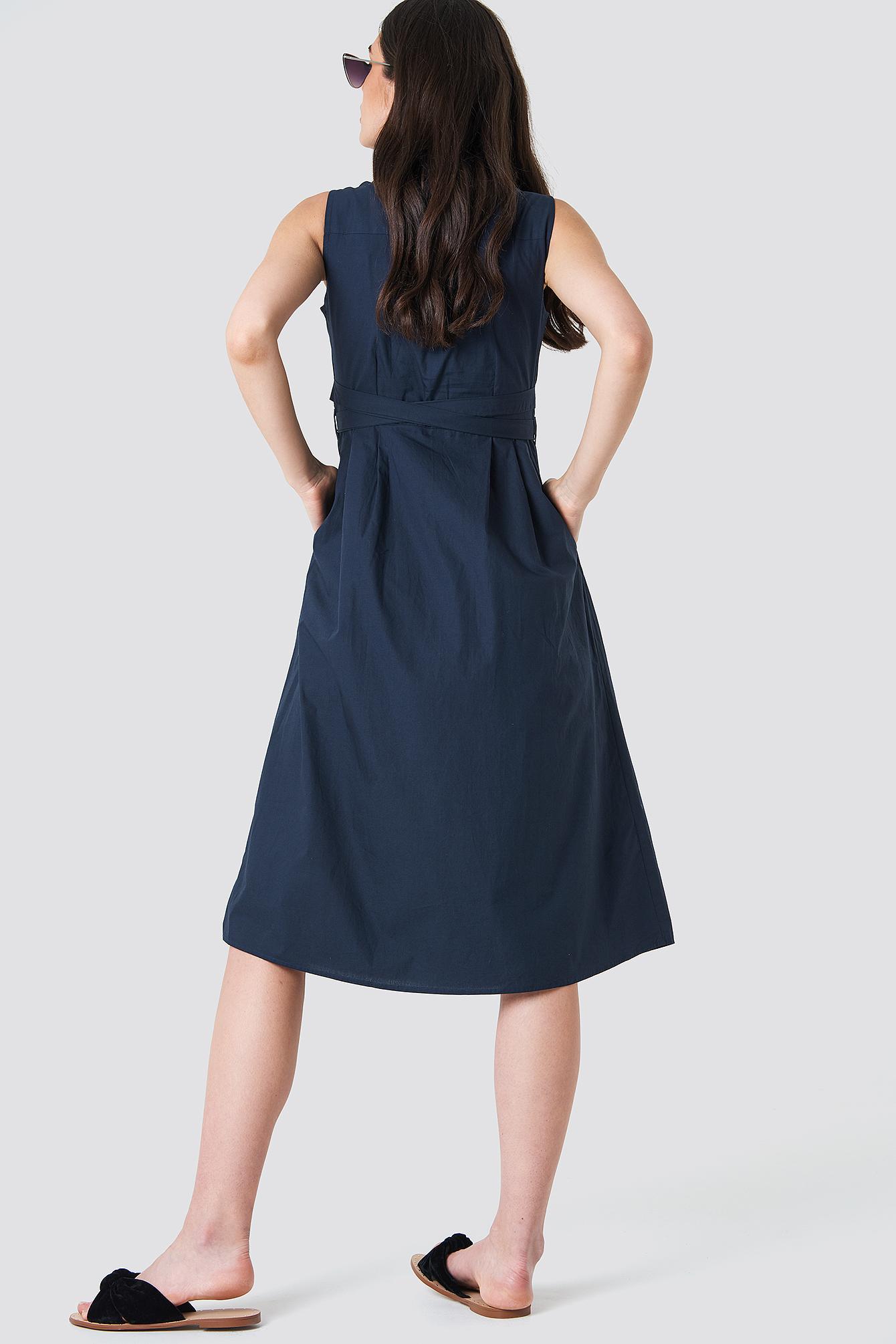 Belt Shirt Dress NA-KD.COM