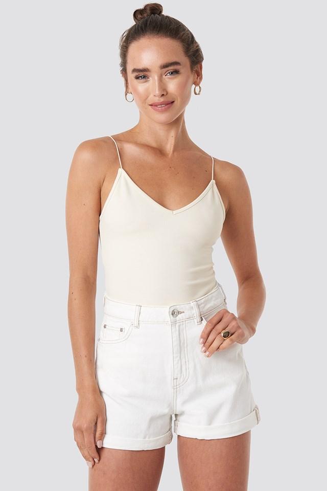 Bermuda Shorts Cream