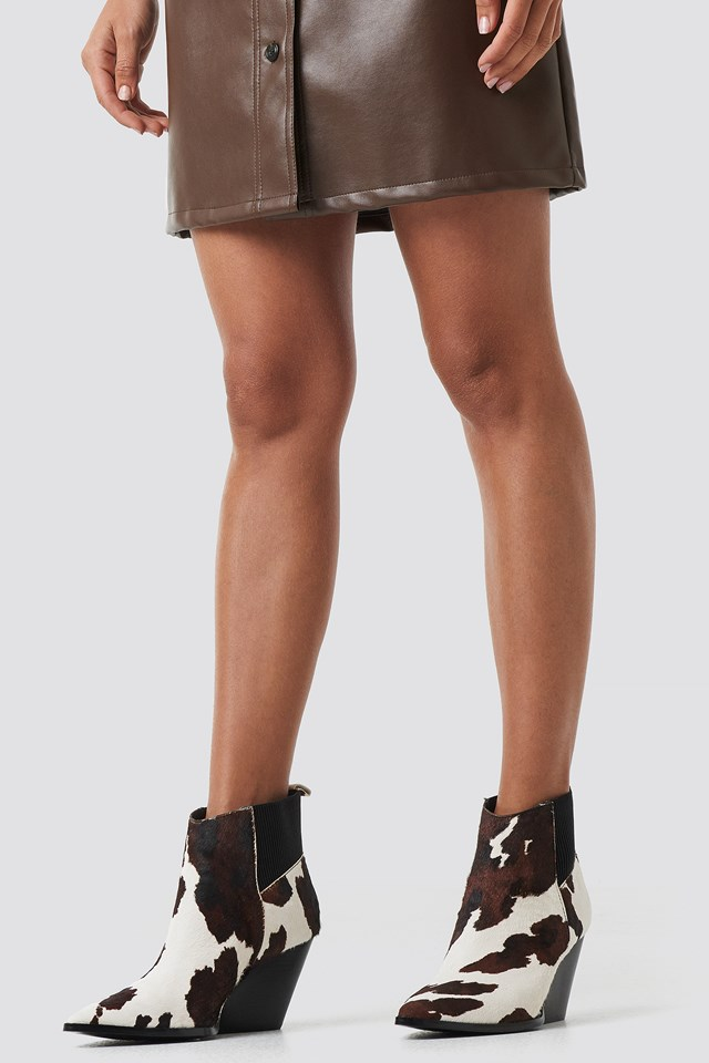 Bert Ankle Boots Brown