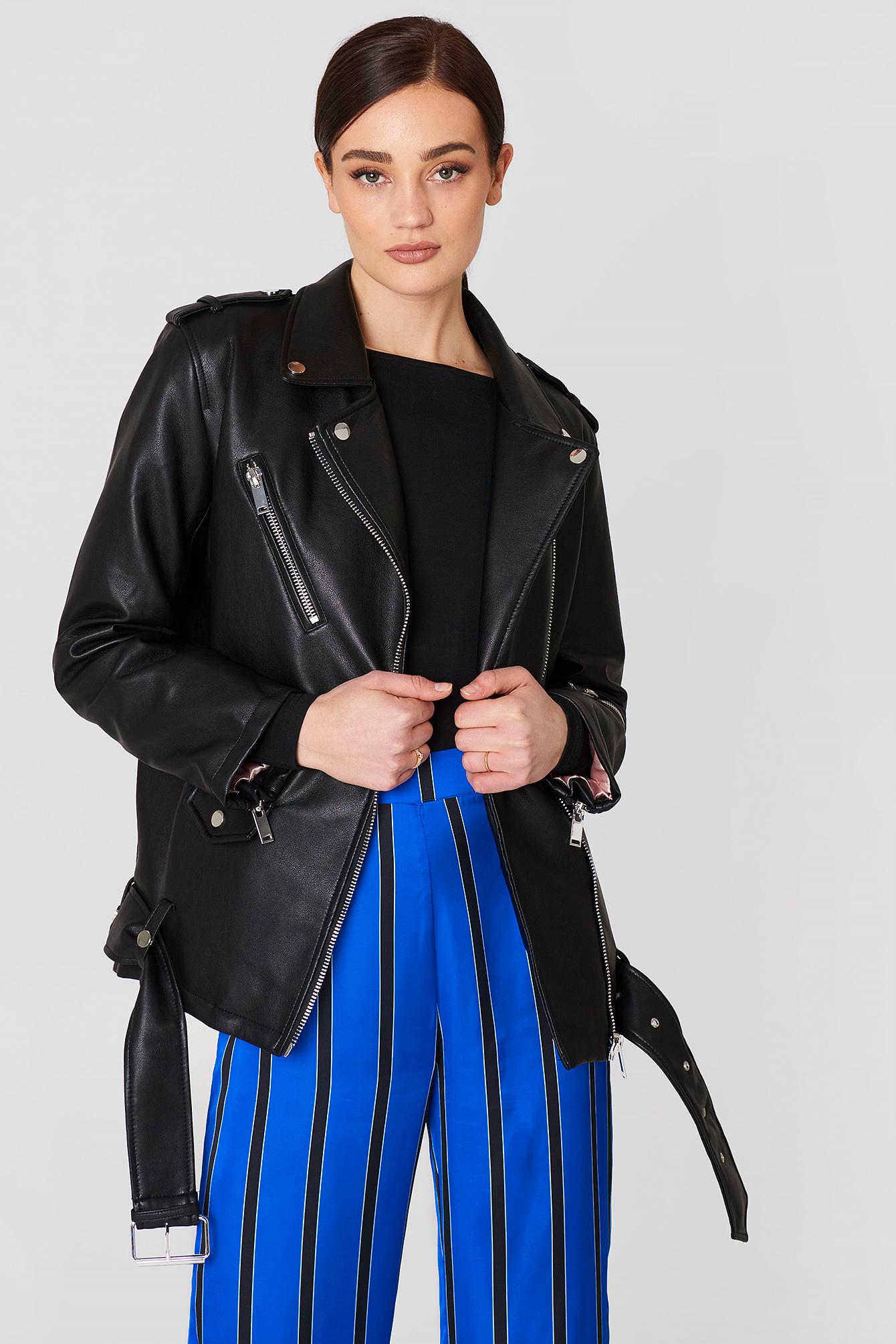 latest style quality first san francisco Biker Oversize Jacket