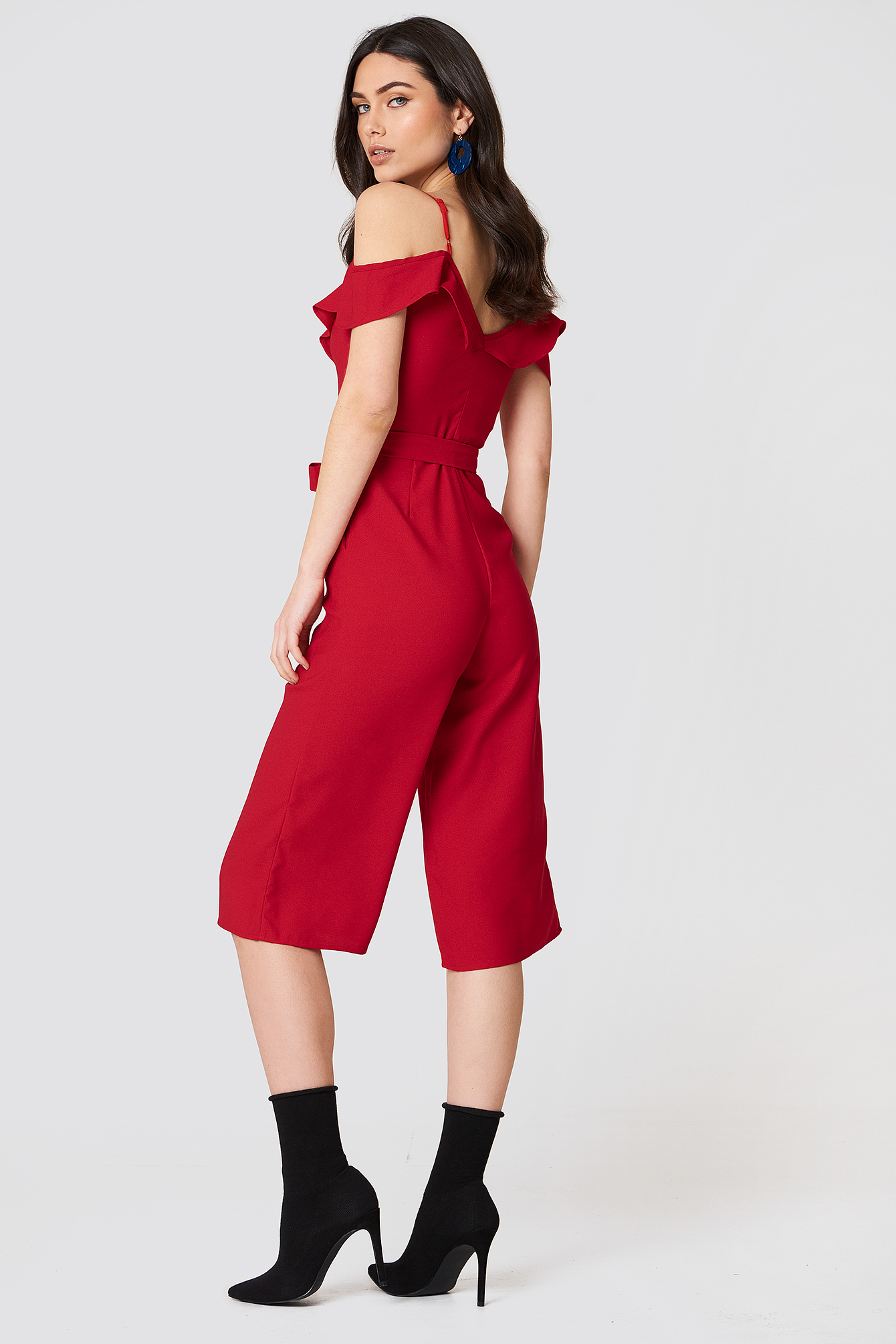 Bow Ruffled Jumpsuit NA-KD.COM