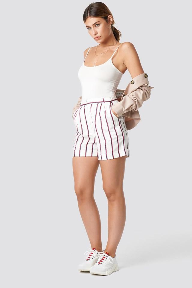Braid Shorts Offwhite