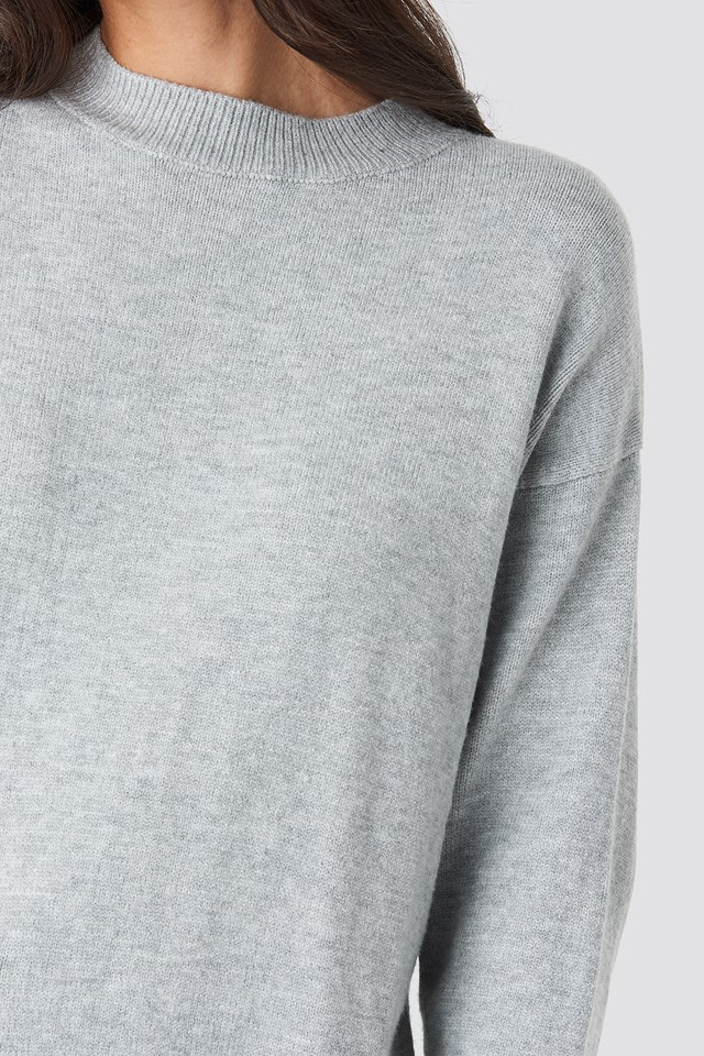 Brother Sweater Light Grey