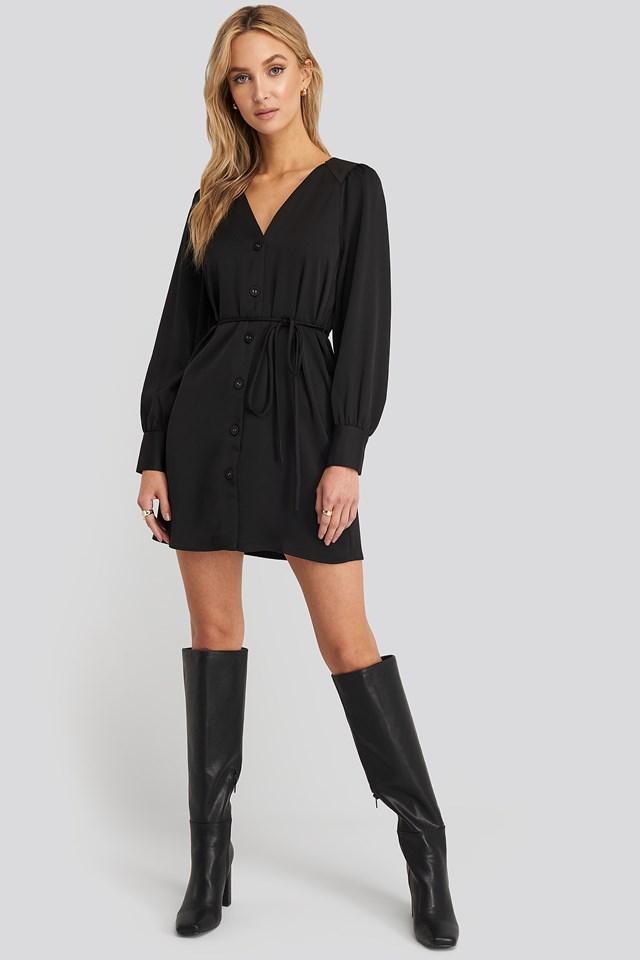 Brunete Dress Black