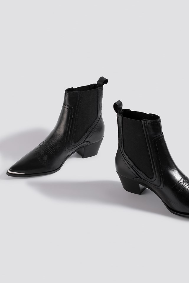 Bufalo Ankle Boots Black