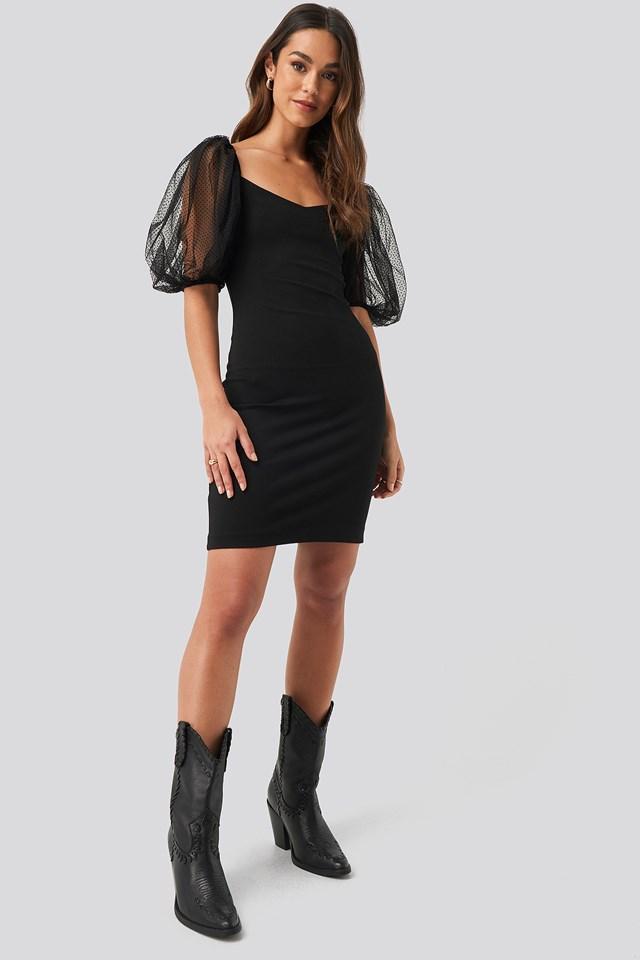 Bulloves Dress Black