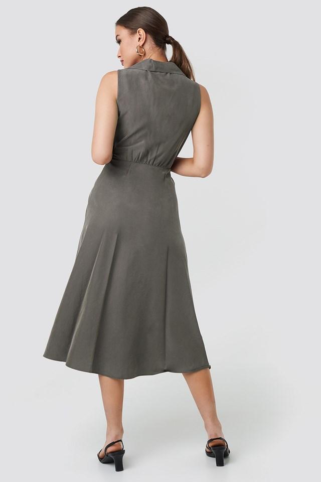 Cala Dress Khaki