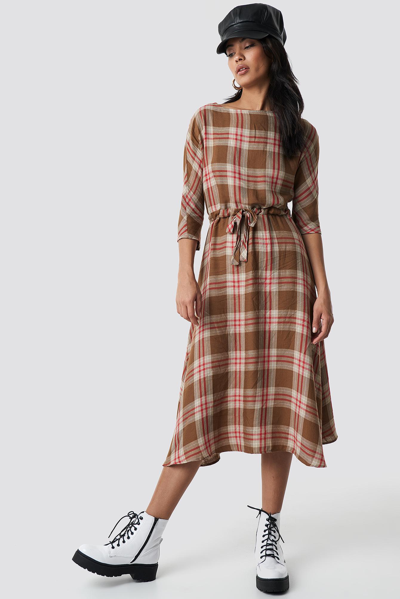 Camila Midi Dress NA-KD.COM
