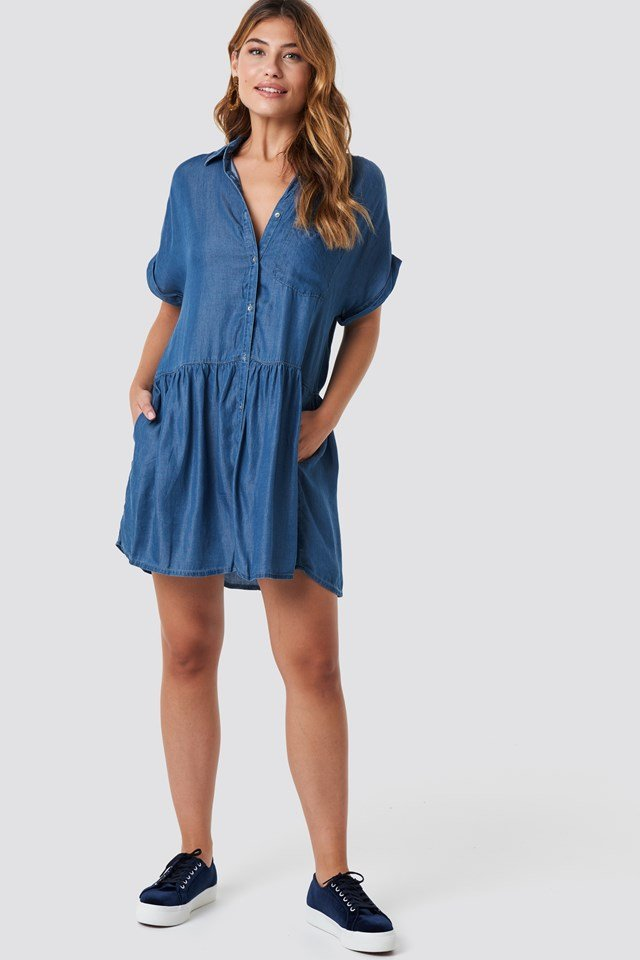 Camisero Dress Medium Denim