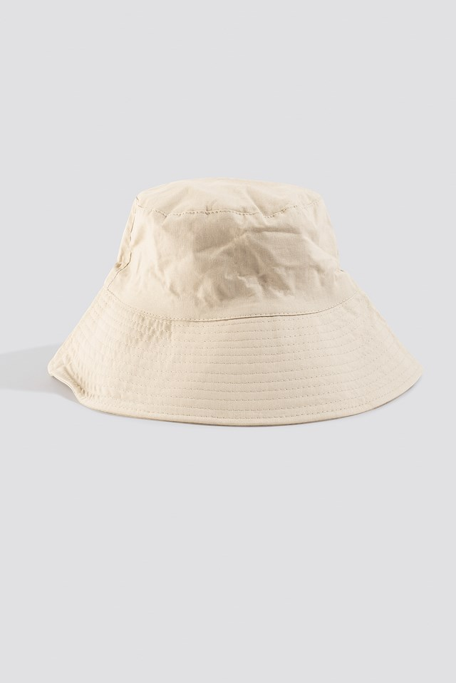 Campaign Hat Light Beige