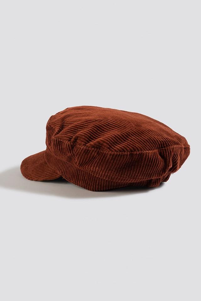 Candice Hat Rust