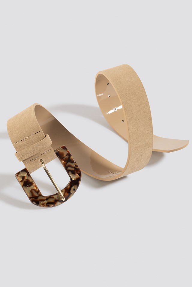 Carey Belt Cream