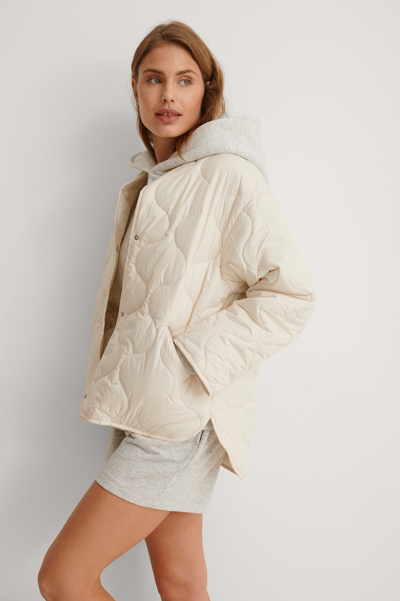 Light Beige Anorak