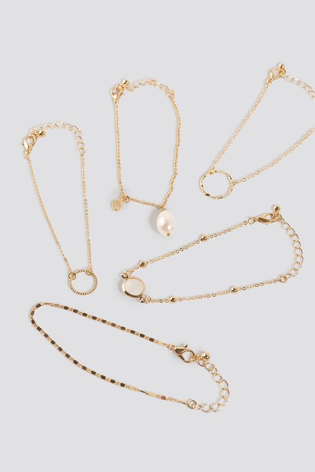 Cata Bracelet Gold