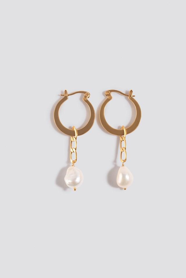 Cellini Earrings Gold