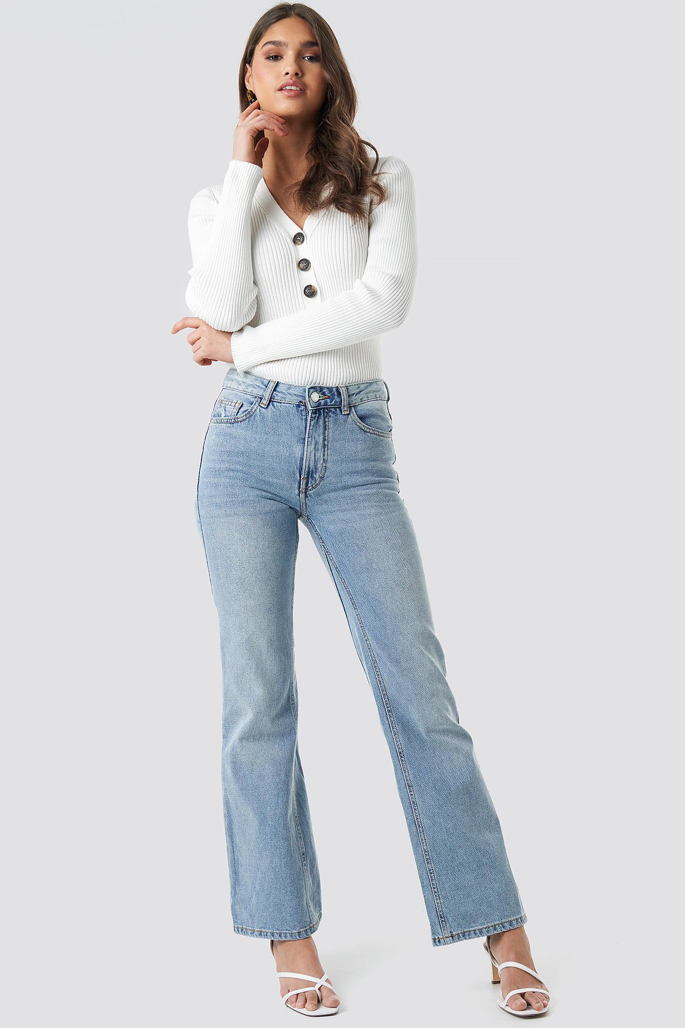 mango -  Choco Jeans - Blue