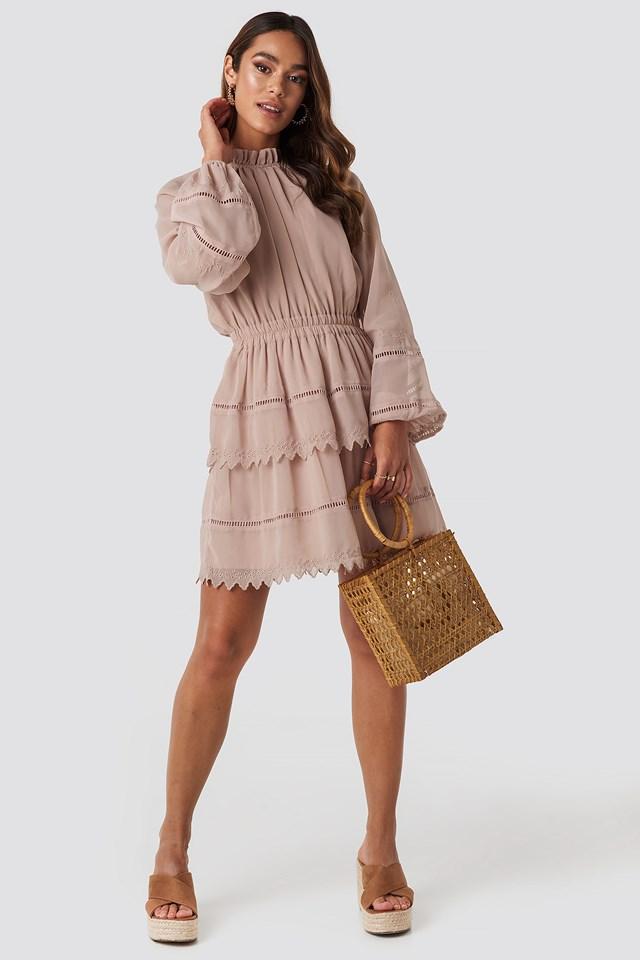 Claudia M Bag Brown Leather