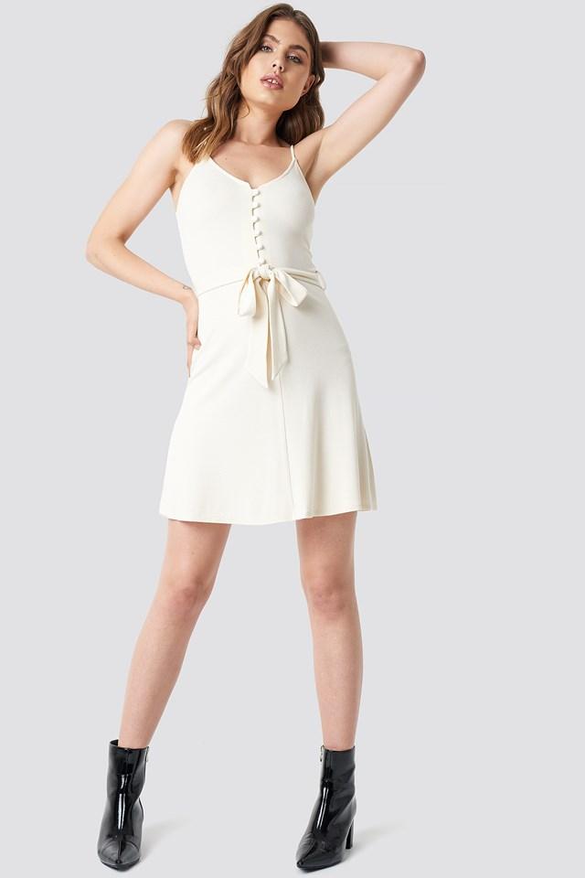 Club Dress Ecru