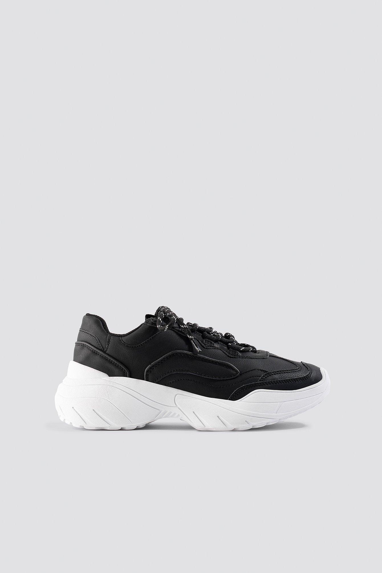 mango -  Colin Sport Shoe - Black