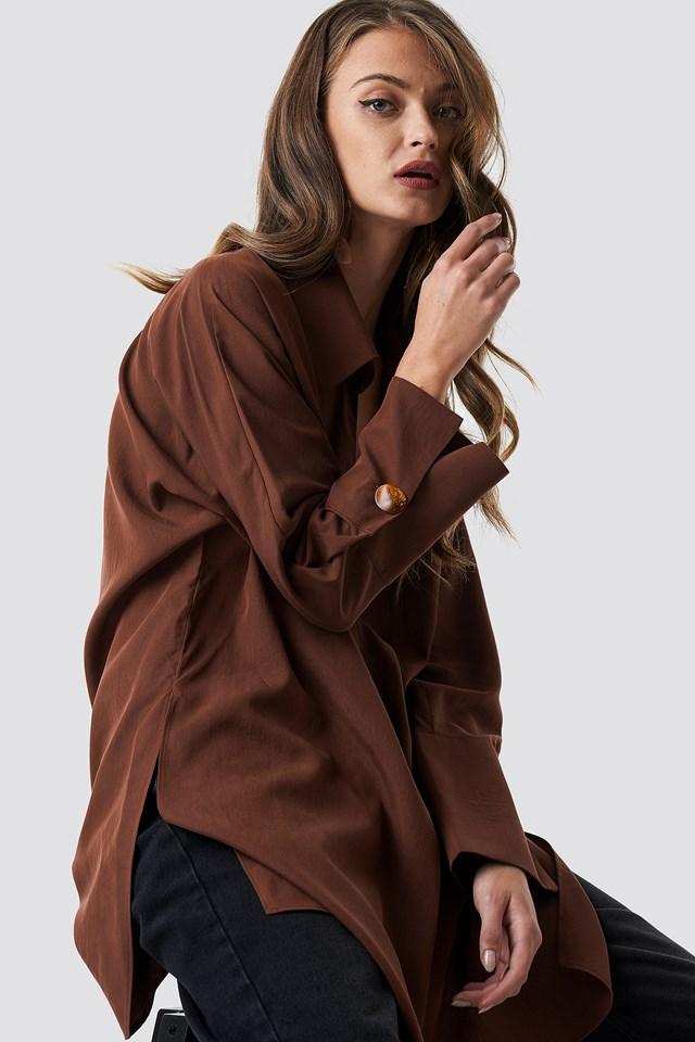 Coll Shirt Terracotta