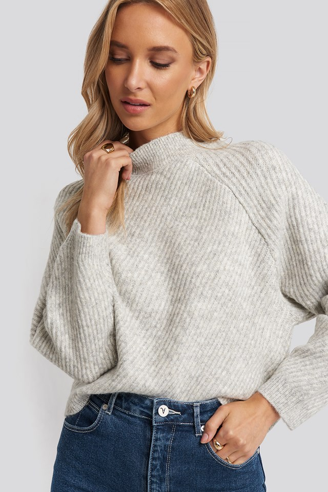 Comfort Sweater Light Gray