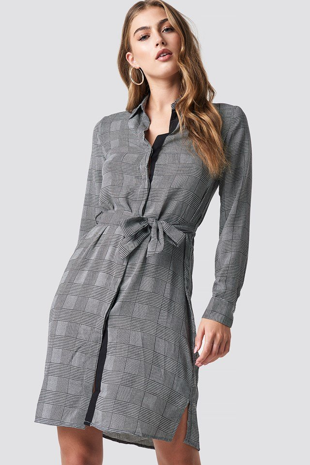 Country Dress Grey