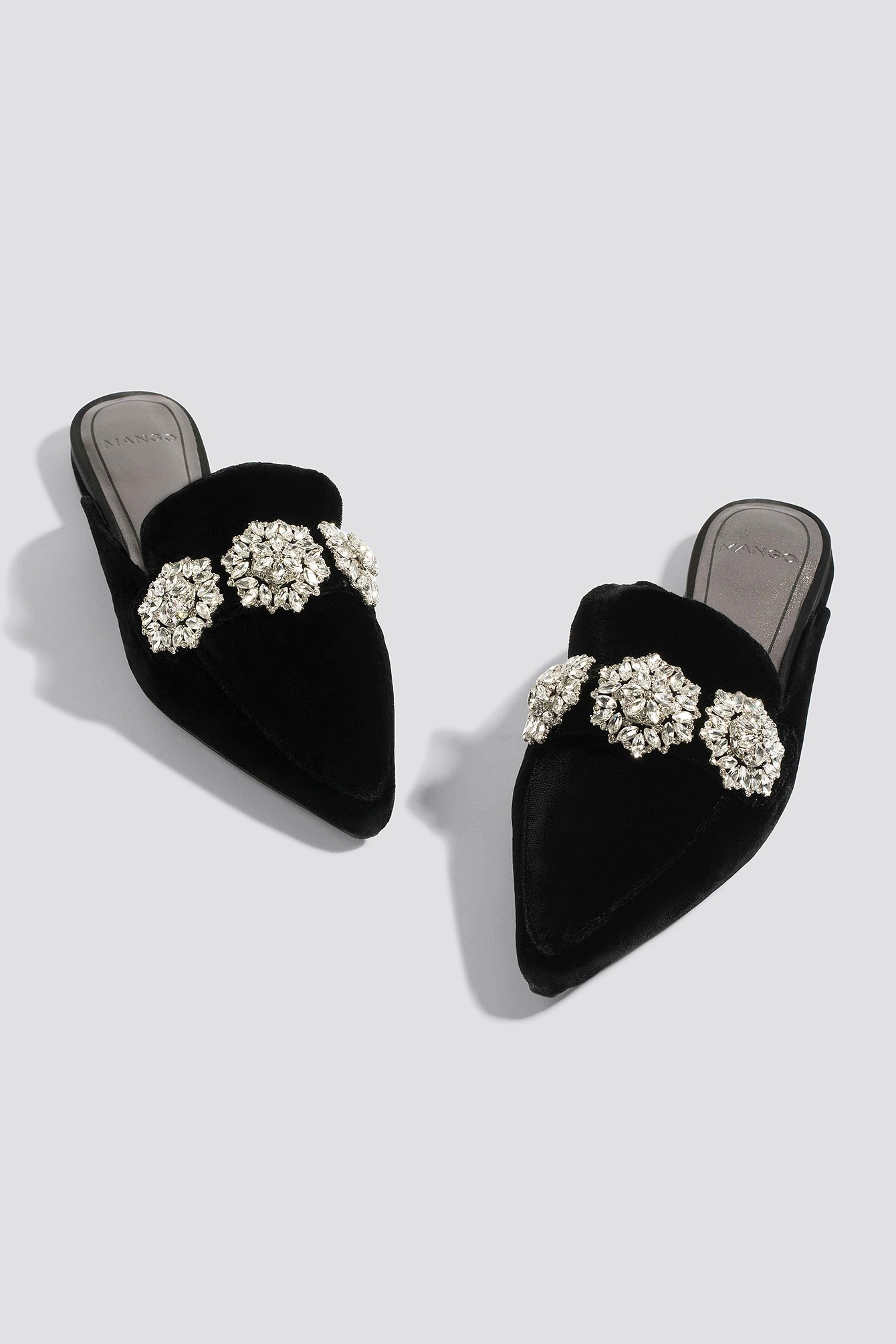 Crystal Slingback Shoes NA-KD.COM