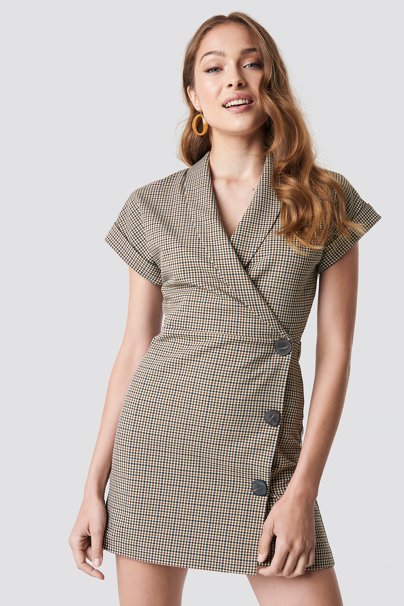 Cuadro Dress NA-KD.COM