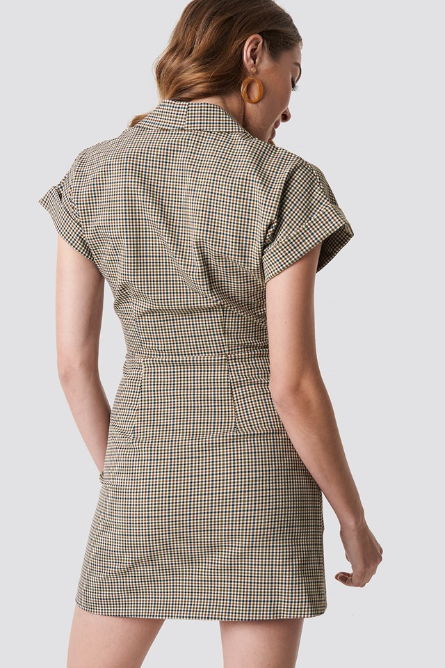 Cuadro Dress Brown
