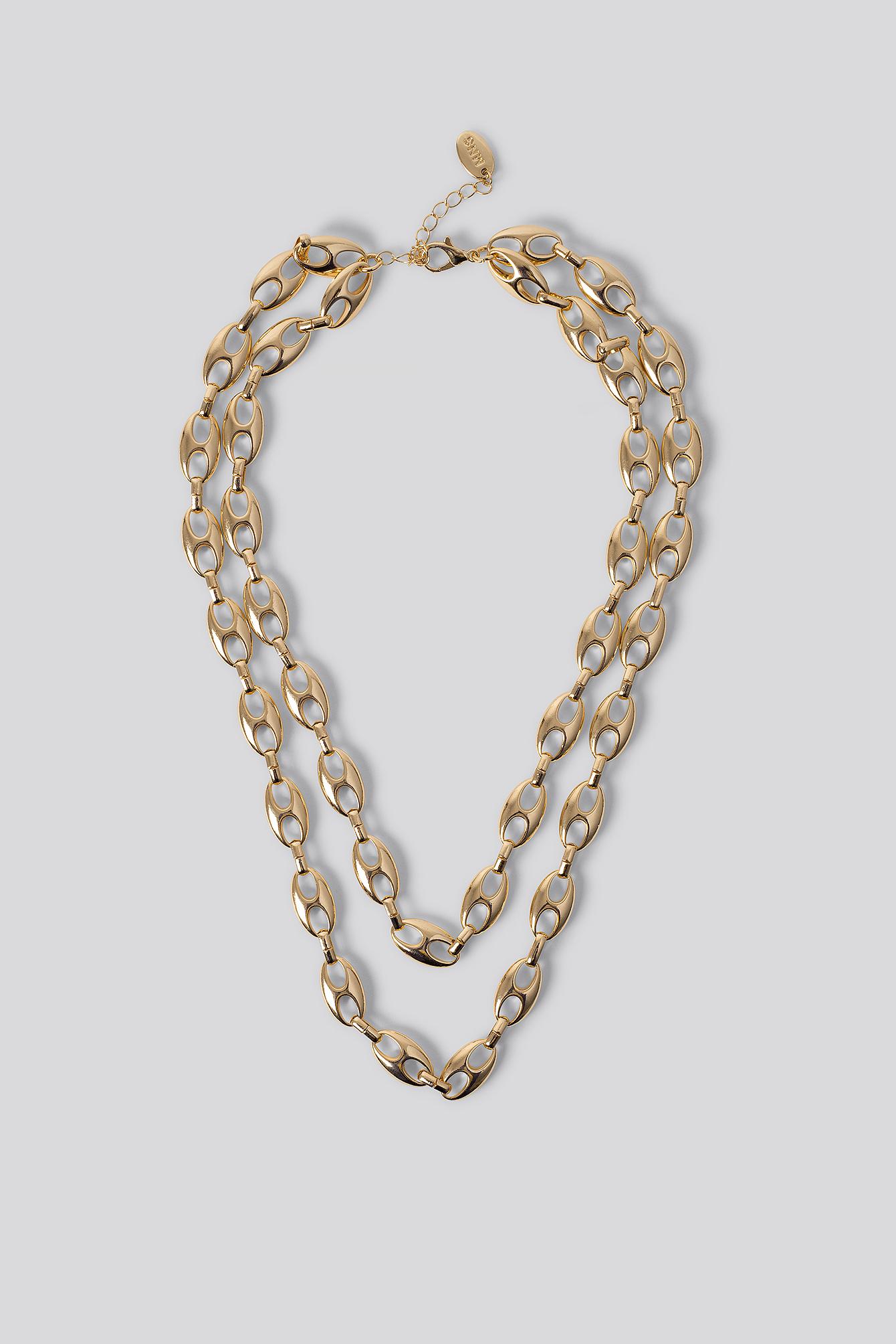 mango -  Halskette - Gold