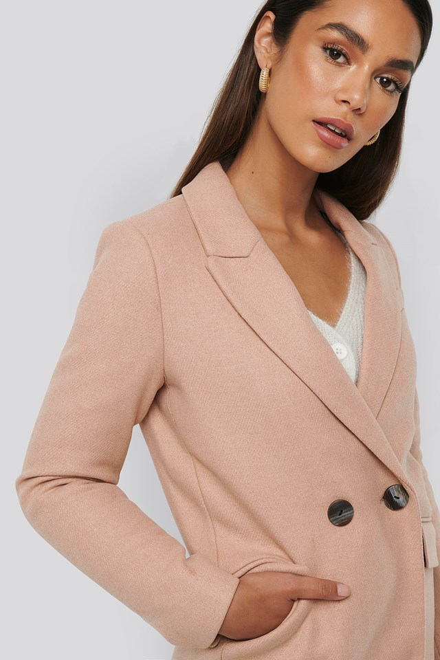 Dali Coat Pink