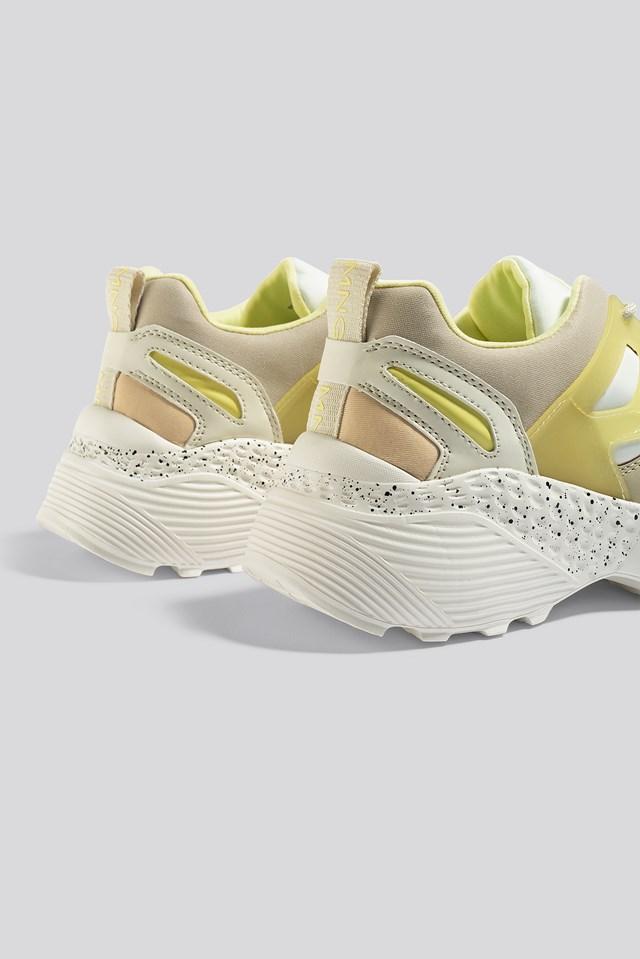 Damon Sport Shoe Pastel Yellow