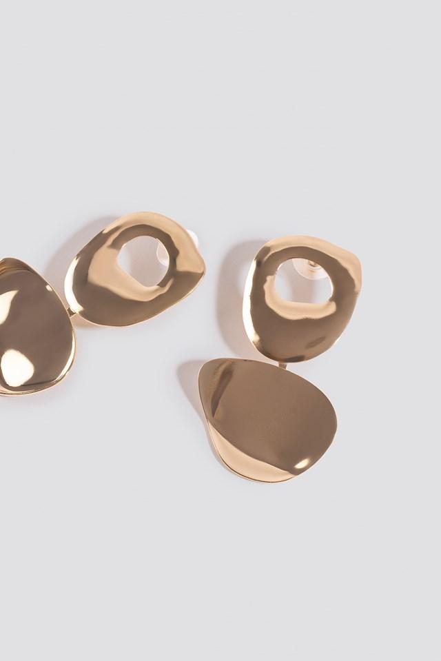 Daura Earrings Gold