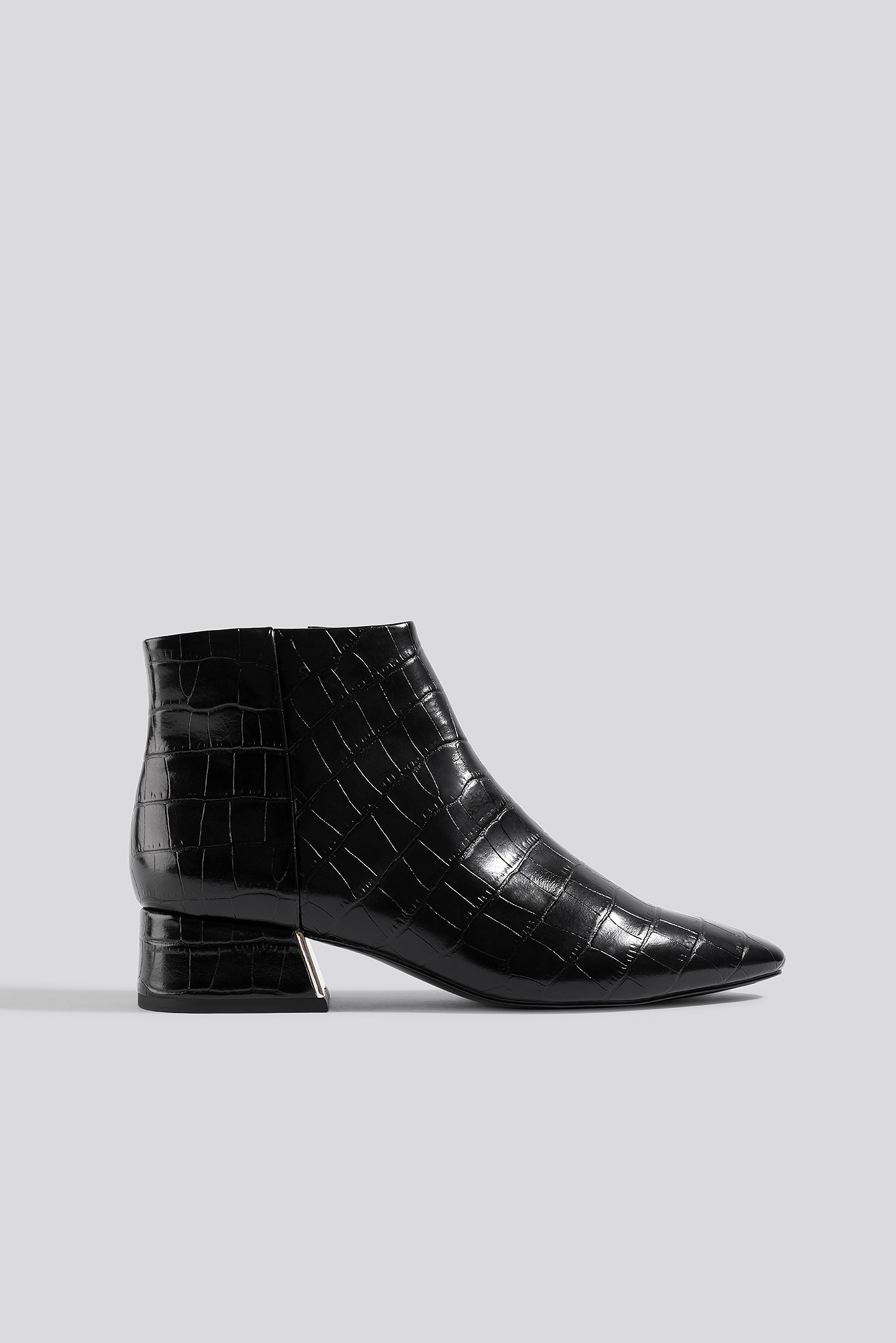 mango -  Day Ankle Boots - Black