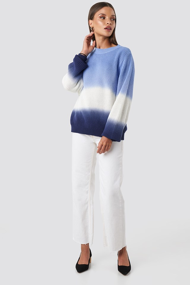 Degrade4 Sweater Blue